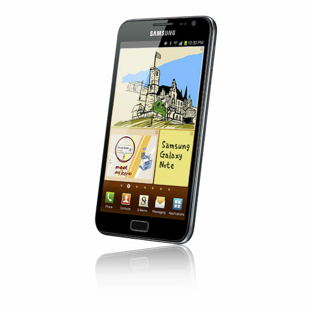 GALAXY Note front