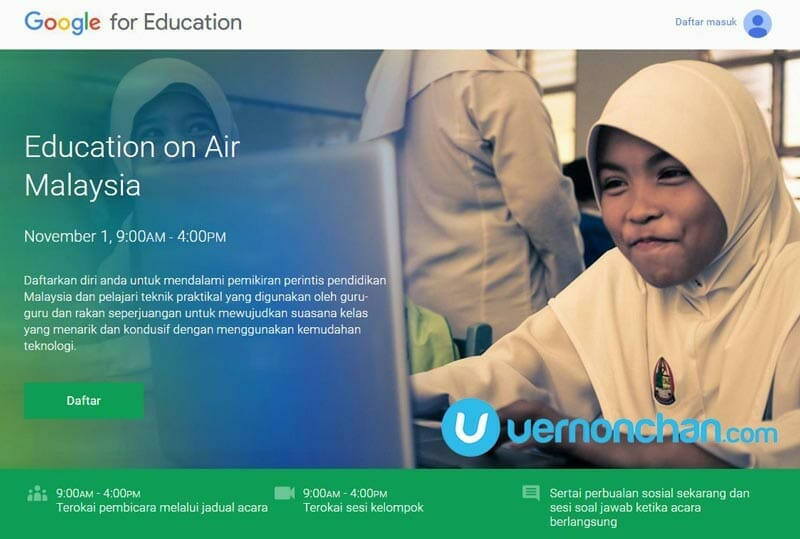 Google Education on AIr