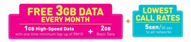 U Mobile POWER Prepaid Plan