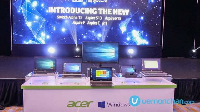 Acer 2016 Portable Launch