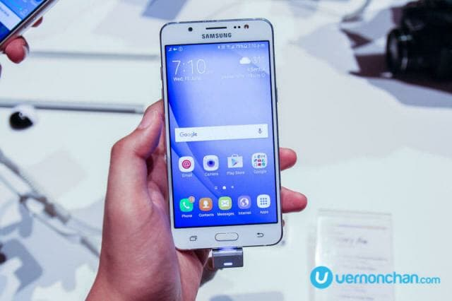 Samsung Galaxy J (2016) launch