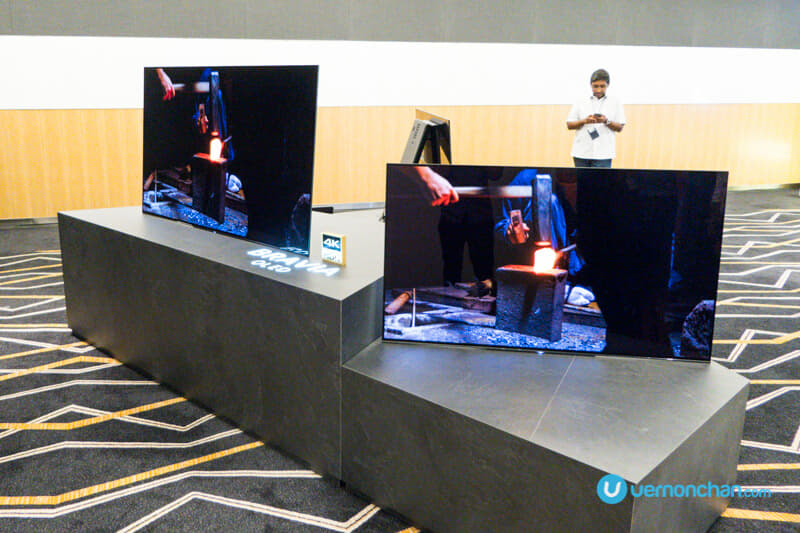 The 2017 Sony Bravia A1 Series OLED 4K HDR TV is the world's