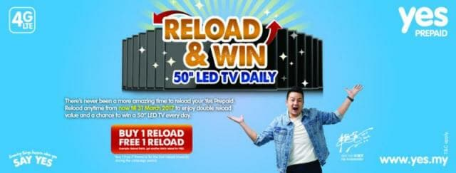 Yes 4G Prepaid Reload