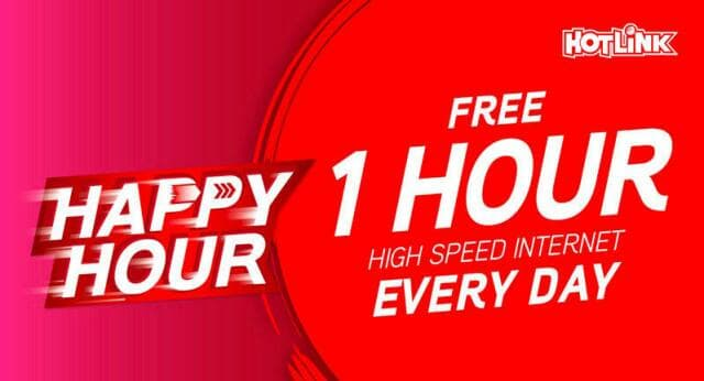 Hotlink Fast Happy Hour