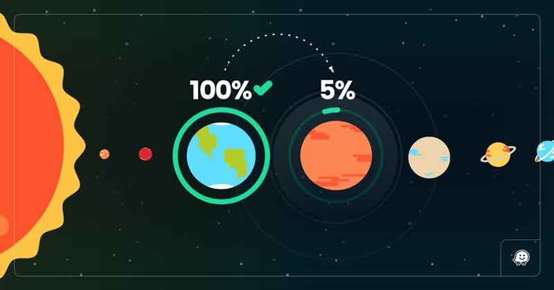After mapping entire continents, Waze is now mapping Mars