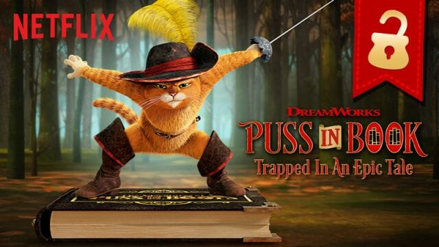 Netflix Puss In Book