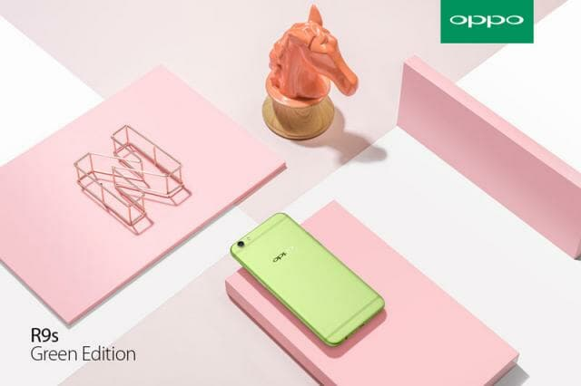 OPPO R9s Green Edition