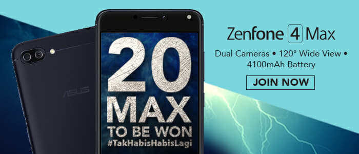 ASUS ZenFone 4 Max: Answer and win contest