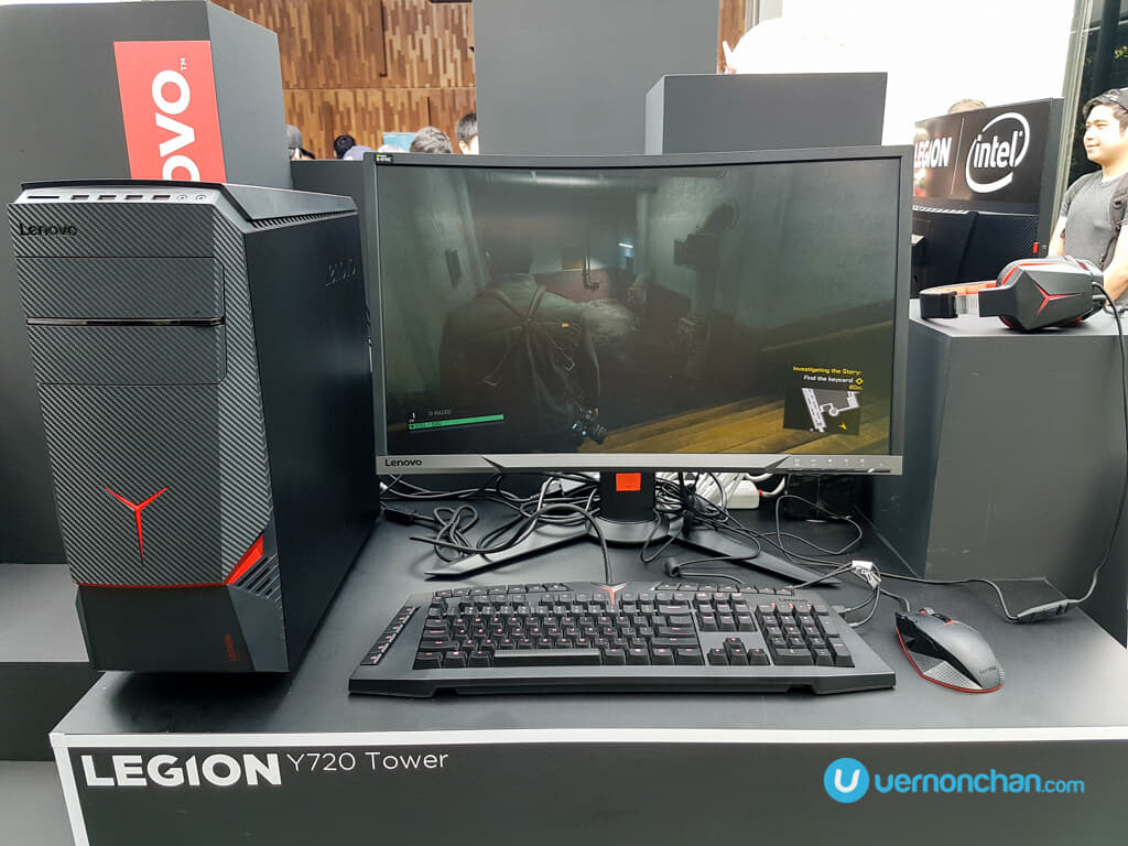 Lenovo Legion debuts flagship Y920 notebook and gaming towers