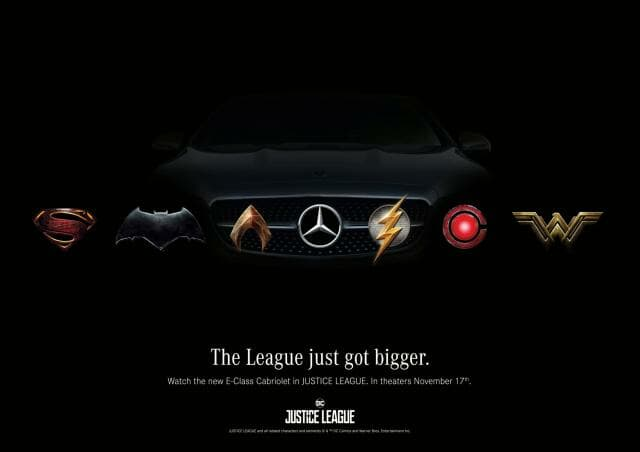 Mercedes-Benz Justice League