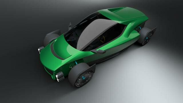 Xing Mobility MISS R Concept