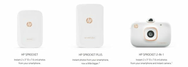 HP Sprocket family