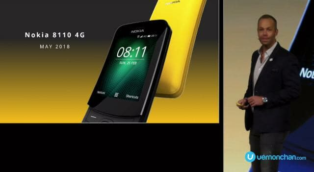 MWC18 Nokia 8110 Reloaded