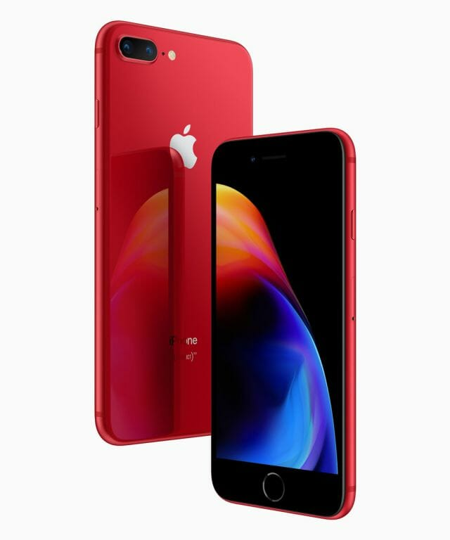 (PRODUCT)RED iPhone 8