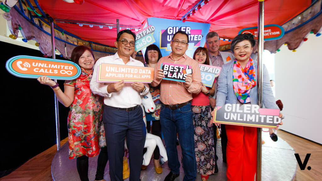 U Mobile Giler Unlimited plans give you unlimited data from