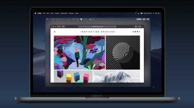 macOS Mojave Screenshots