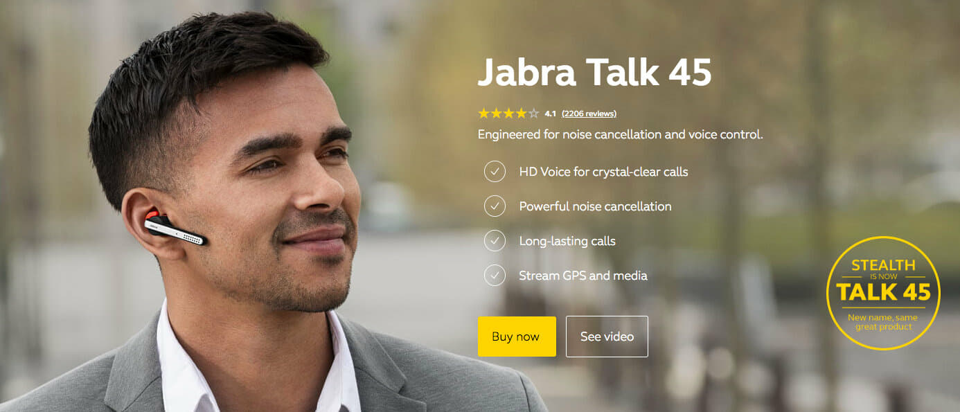 Jabra celebrates 20 years of Bluetooth history