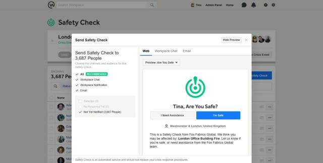 Safety Check Workplace