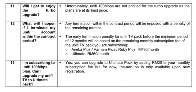 unifi Lite Plan