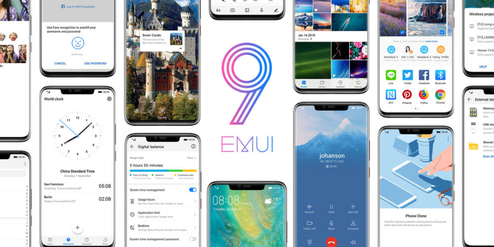 EMUI 9 0 with Android Pie now available for Mate 10 and Mate