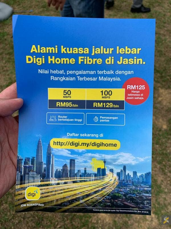 Digi fibre packages