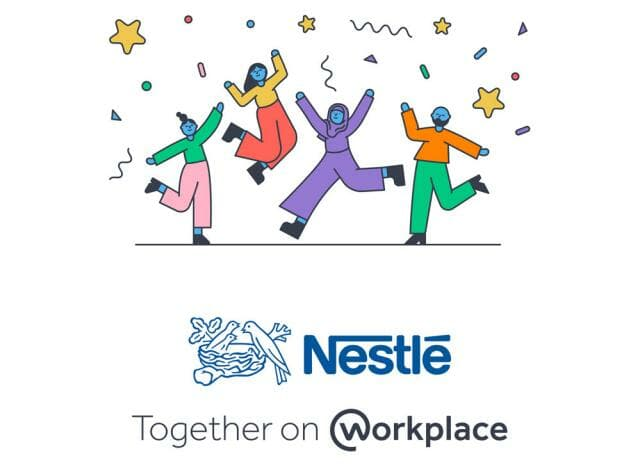 Nestle Workplace by Facebook