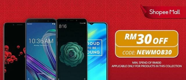 Shopee New Year New Phone promo