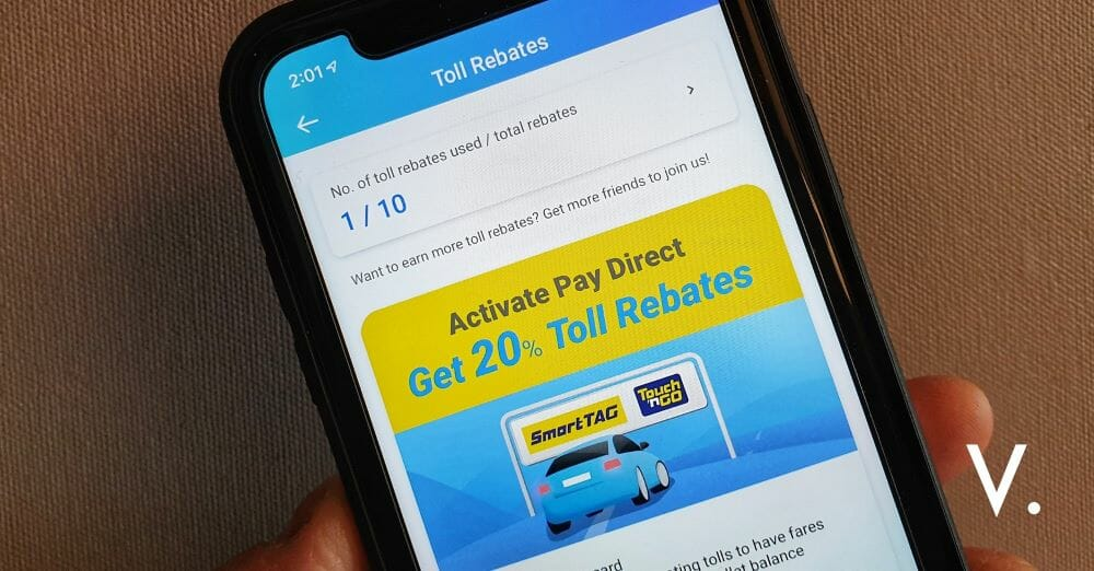 Get 20 Toll Rebate When You Pay With Touch N Go Ewallet