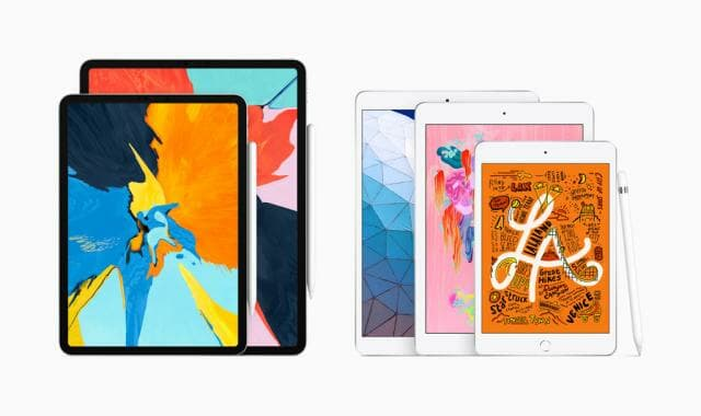 2019 iPad Air + iPad mini