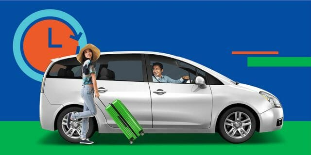 GrabCar rent by the hour