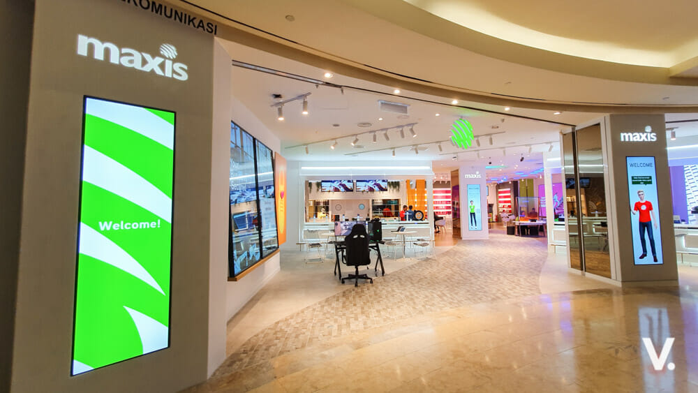 Maxis New Concept Store Is Cutting Edge And Very Cool
