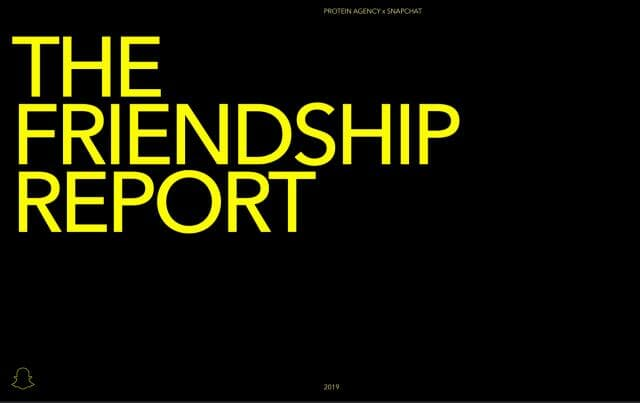 Snap Inc Friendship Report