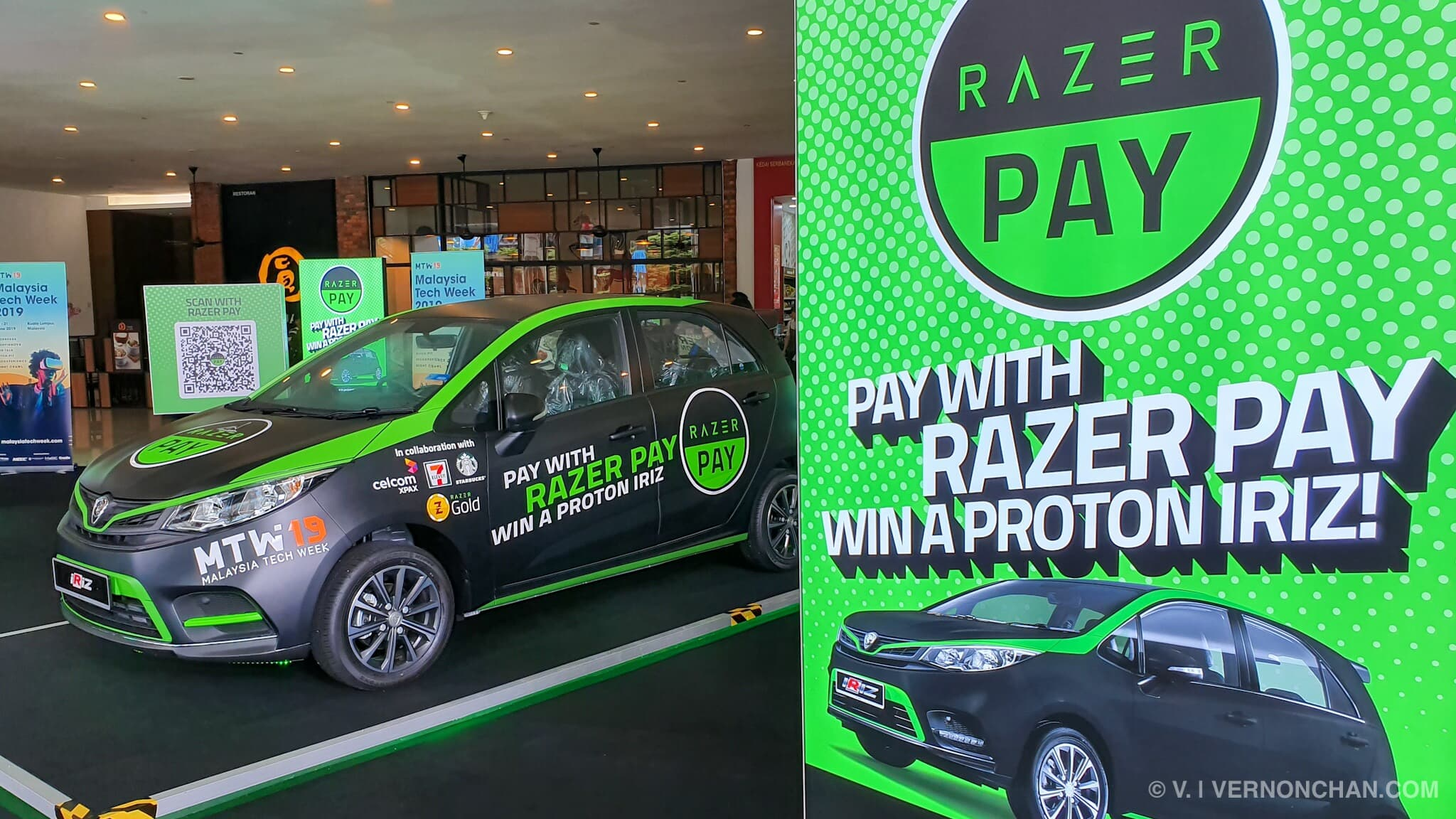 Here's how you can win the Razer Pay 2019 Proton Iriz
