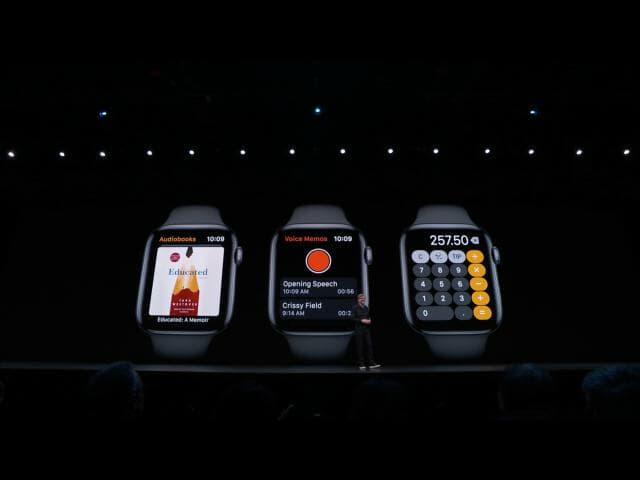 Apple WWDC19: watchOS