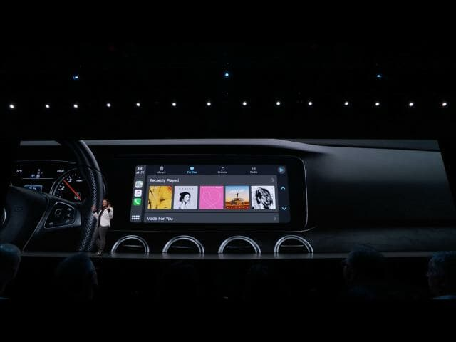 Apple WWDC19: CarPlay