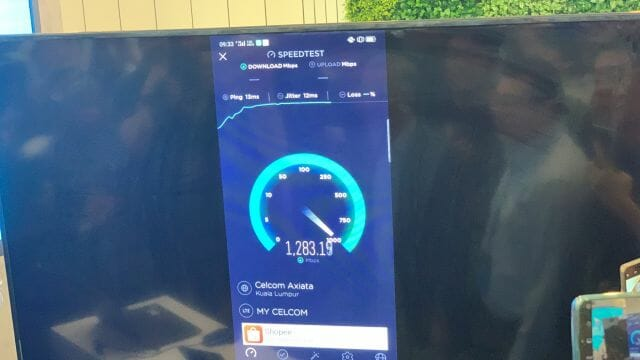 Celcom 5G Live Cluster Field Trial