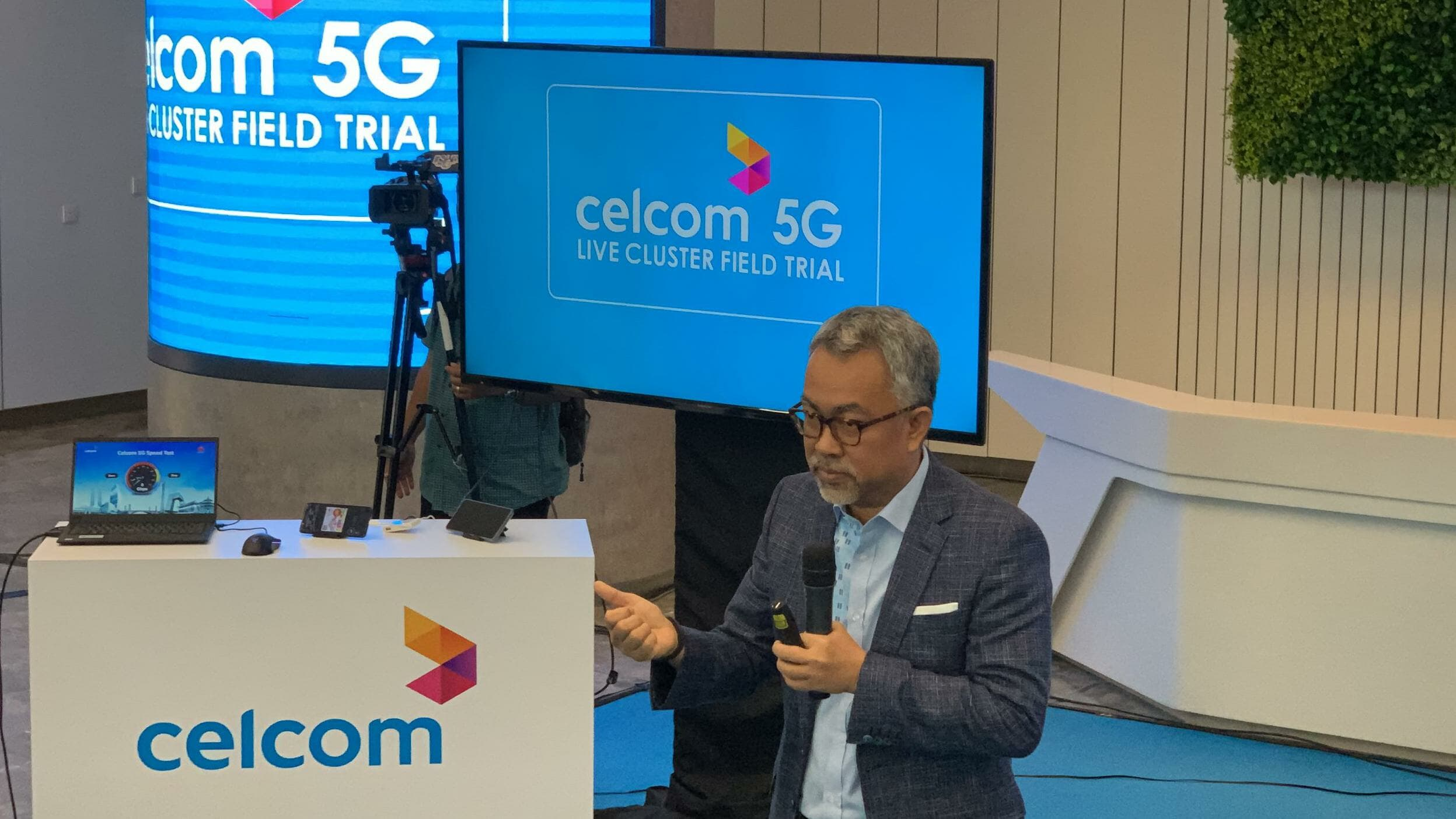 Celcom launches Malaysia's first 5G Live Cluster Trial