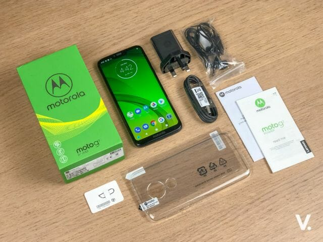 Moto G7 Power unboxing