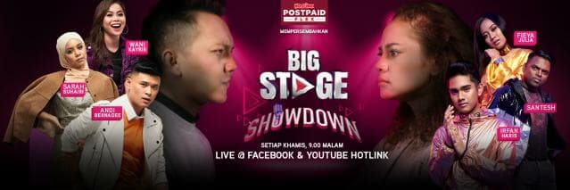 Hotlink Postpaid Flex + Astro - Big Stage Showdown