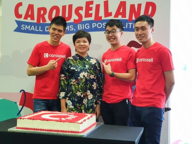 Carousell co-founders