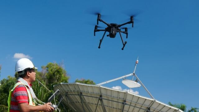 Maxis A.I. Network drone