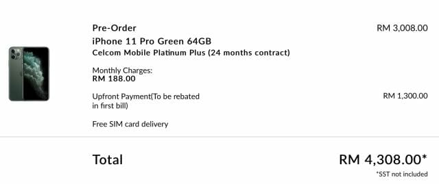 iPhone 11 Pro device bundle
