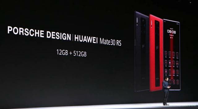 Porsche Design Huawei Mate 30 RS