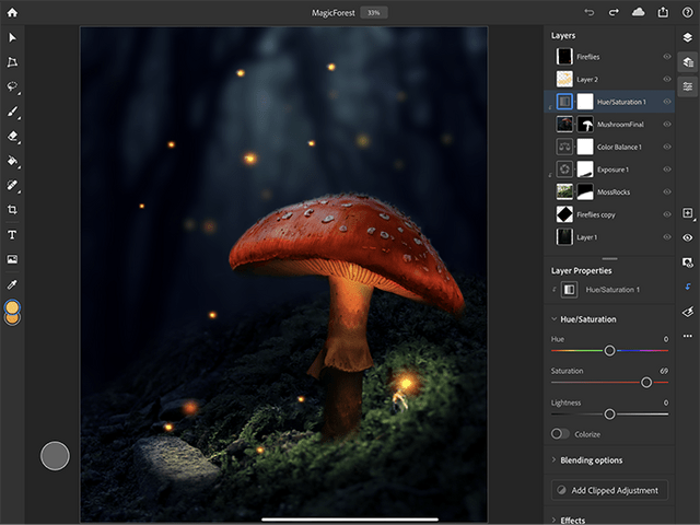 Adobe Photoshop for iPad