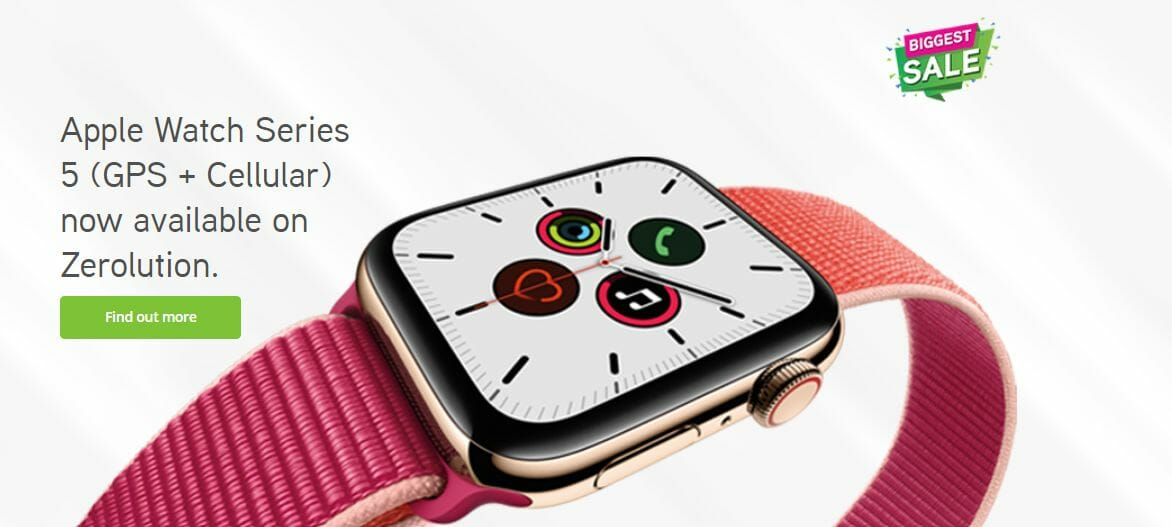 Maxis Zerolution Apple Watch Series 5