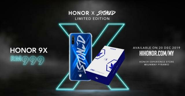 Honor 9X Stoned & Co
