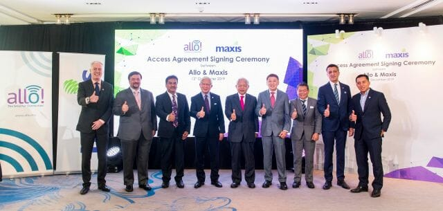 Maxis and Allo sign access agreement