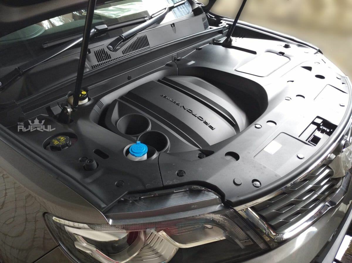 2020 Proton X70 CKD engine bay