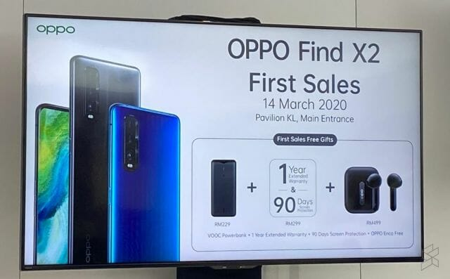 Oppo Find X2 Pro First-day Sales