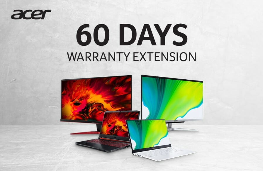 Acer Malaysia Extended Warranty MCO